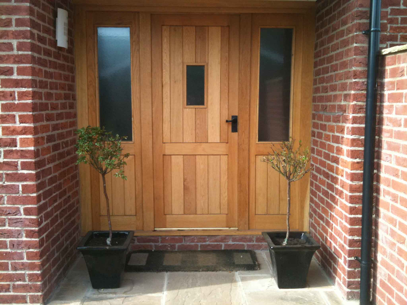 Doors hortus ligneous for Oak front doors