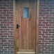 Oak traditional external door