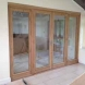 Oak internal french door set