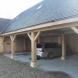 Oak Frame of garage