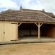 Triple oak and softwood frame garage
