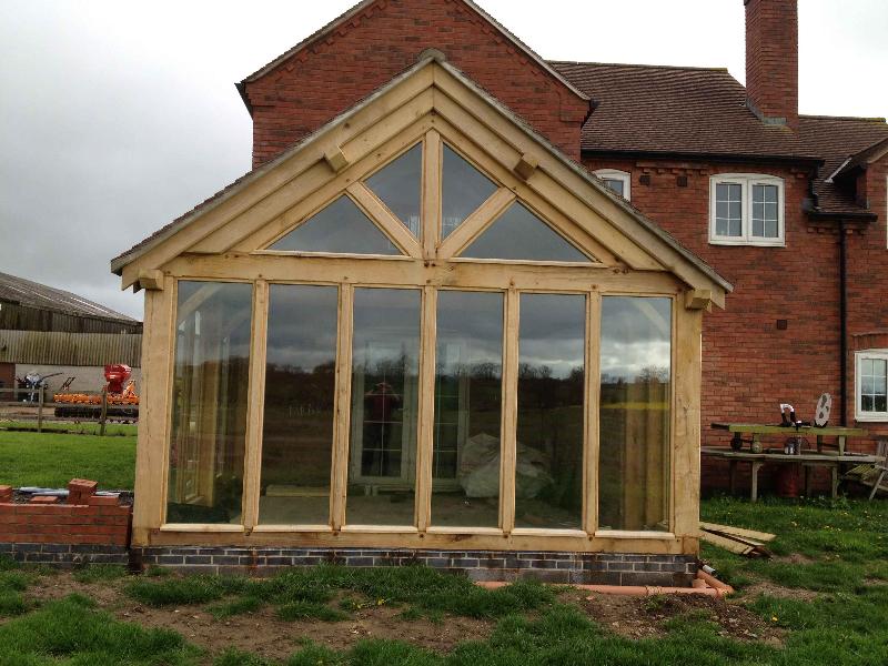 Garden rooms hortus ligneous for Garden glass room