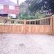 Hardwood Estate Gate