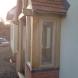Small enclosed oak porch