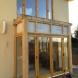 Oak and class bay window patio porch