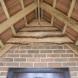 Internal view of oak porch