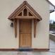 Oak Porch Canopy