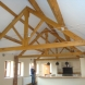 Large oak trusses